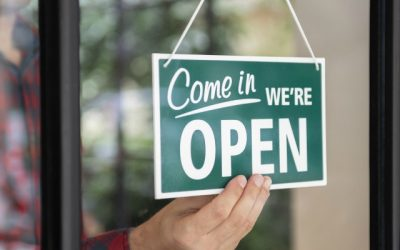 Letting Your Community Know You are Open for Business
